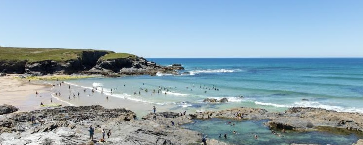 Treyarnon Beach - Dog Friendly Beaches North Cornwall
