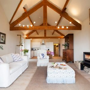 Stunning interior of Dog Friendly Cottage, Yorkshire, North East England.