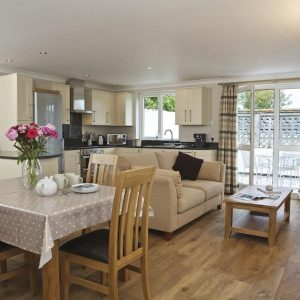 A dog friendly cottage, home from home, interior in Devon.