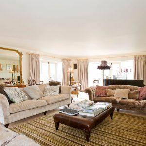 A beautiful lounge - luxury, 5 star dog friendly cottage, Cotswolds