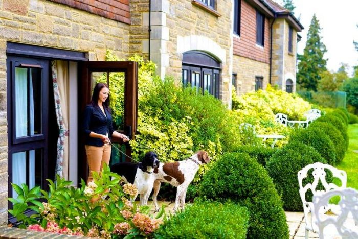 Pet friendly suites with private terrace at Ashdown Park