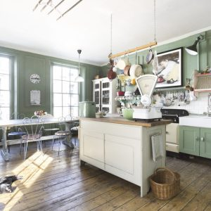 Contemporary self catering kitchen