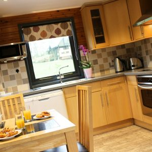Dining and eating area at Flowery Lodges, North Yorkshire