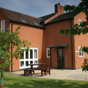 Enjoy al fresco dining as part of your holiday when you stay at Hispley Farm Dog Friendly Cottages, Warwickshire