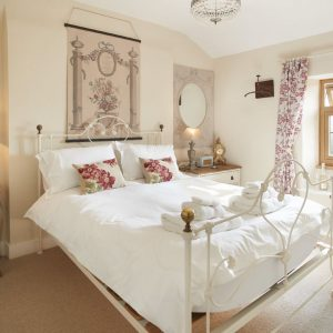 A beautiful bedroom from dog friendly holiday cottages UK wide, Rural Retreats