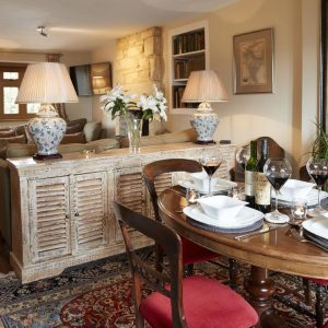 Cosy cottage interior in a Rural Retreats Holiday Cottage Rental