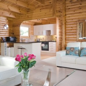 Beautiful, open plan living at South Winchester Holiday Lodges, Hampshire