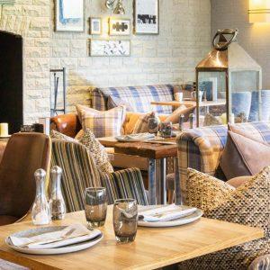 Stylish and informal dining at Auchrannie Resort, Arran, Scotland