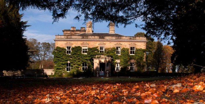 Eshott Hall is one of the most luxurious dog friendly hotels in North East England