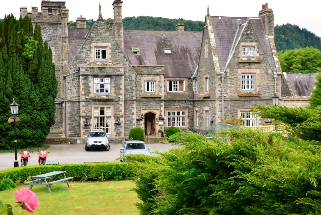 Maenan Abbey is a beautiful dog friendly hotel, Wales