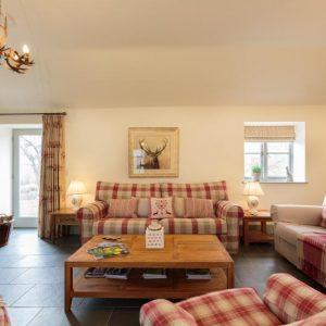 Comfortable living at River Catcher pet friendly cottages, Wales