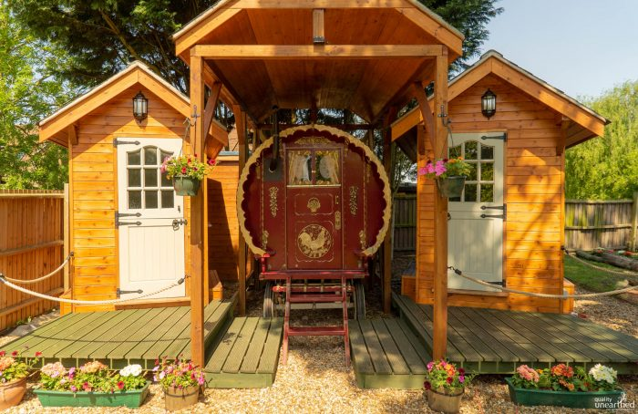 Dog friendly glamping, Cambridge